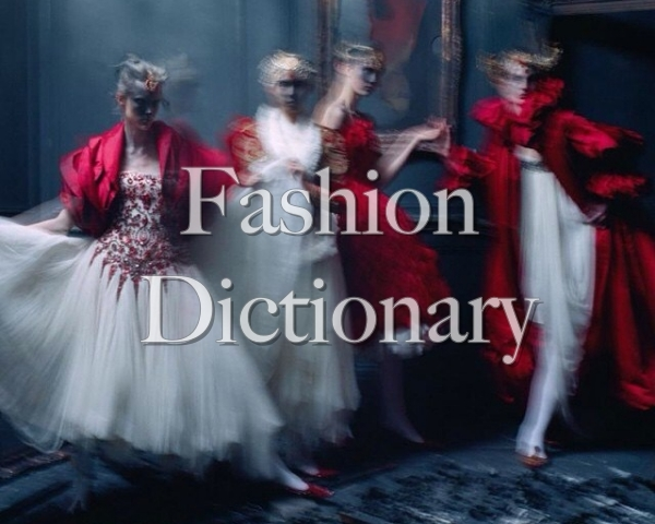 Словарь шопоголика: глоссарий предметов одежды, фасонов и материалов на английском