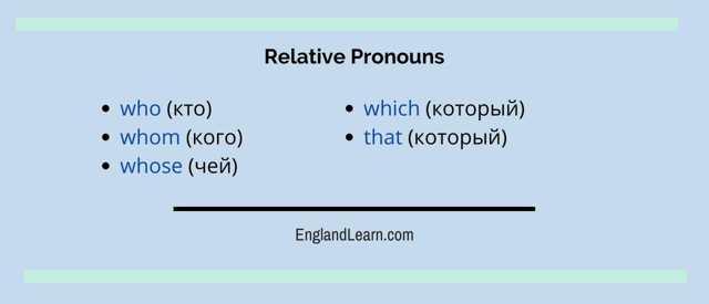 5 главных правил употребления относительных местоимений в английском