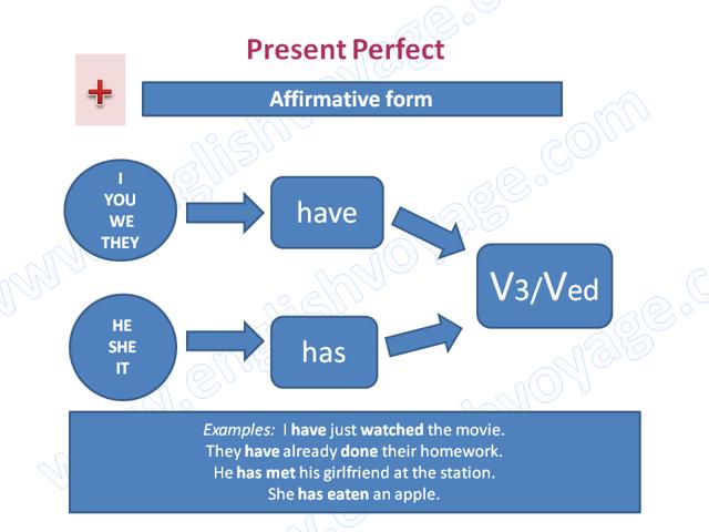 Время Present Perfect в Английском языке