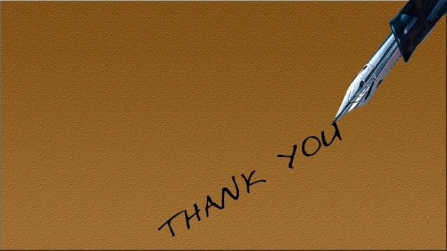 Как сказать «спасибо» по-английски