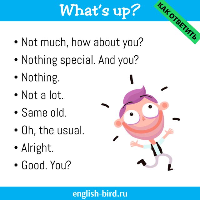 Как ответить на вопрос «Как дела?» по-английски