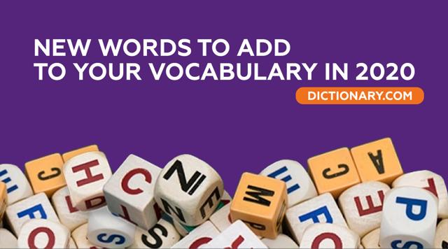 Новые слова в английском языке, которые появились в 2020 году