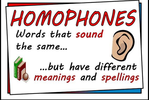 Английские омофоны: секреты правописания похожих слов в английском языке